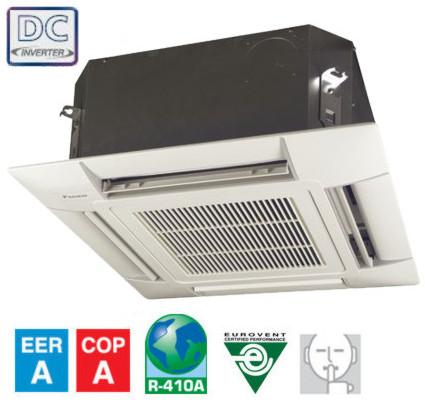 Ar Condicionado Daikin Domestico Unidades Cassete 4 Vias Multi Split Inverter FFQBV50  arverde
